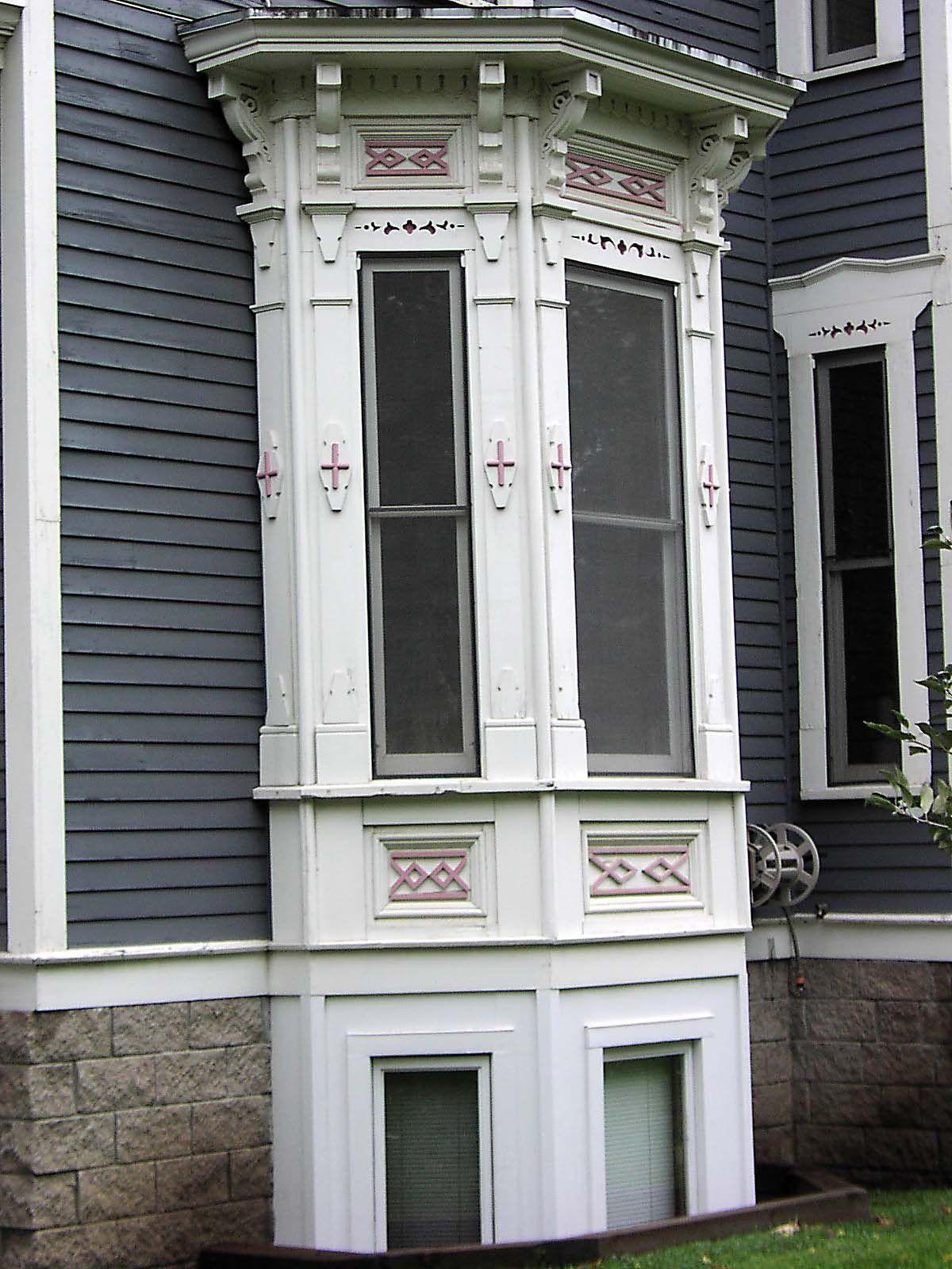 Victorian Bay Windows Window Detail