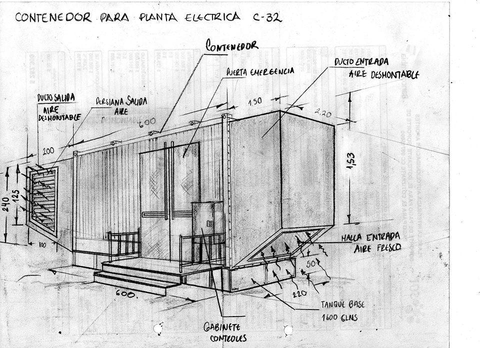 Subestación eléctrica en contenedor