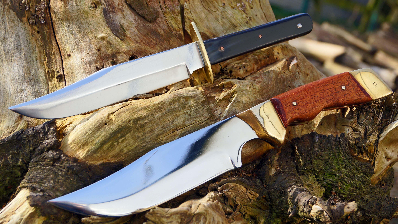 custom cowboy bowie knives handgemachte messer vintage. Black Bedroom Furniture Sets. Home Design Ideas