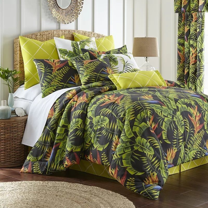 Palm Tree Bedding Sets Comforters Quilts Beachfront Decor Comforter Sets Mattress Furniture Duvet Cover Sets