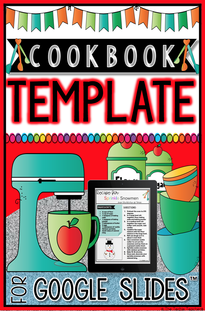 Create A Cl Cookbook With This Digital Template In Google Slides Students Will
