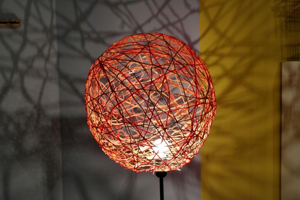 diy lampe aus bast f den basteln pinterest lampen diy lampen und basteln. Black Bedroom Furniture Sets. Home Design Ideas