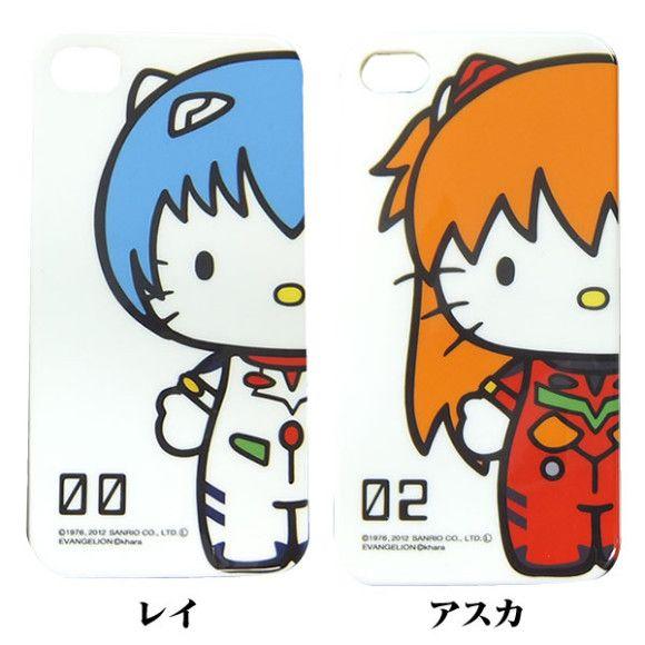96424e5e3 Hello Kitty x Neon Genesis Evangelion Phone Cases | Hello Kitty ...