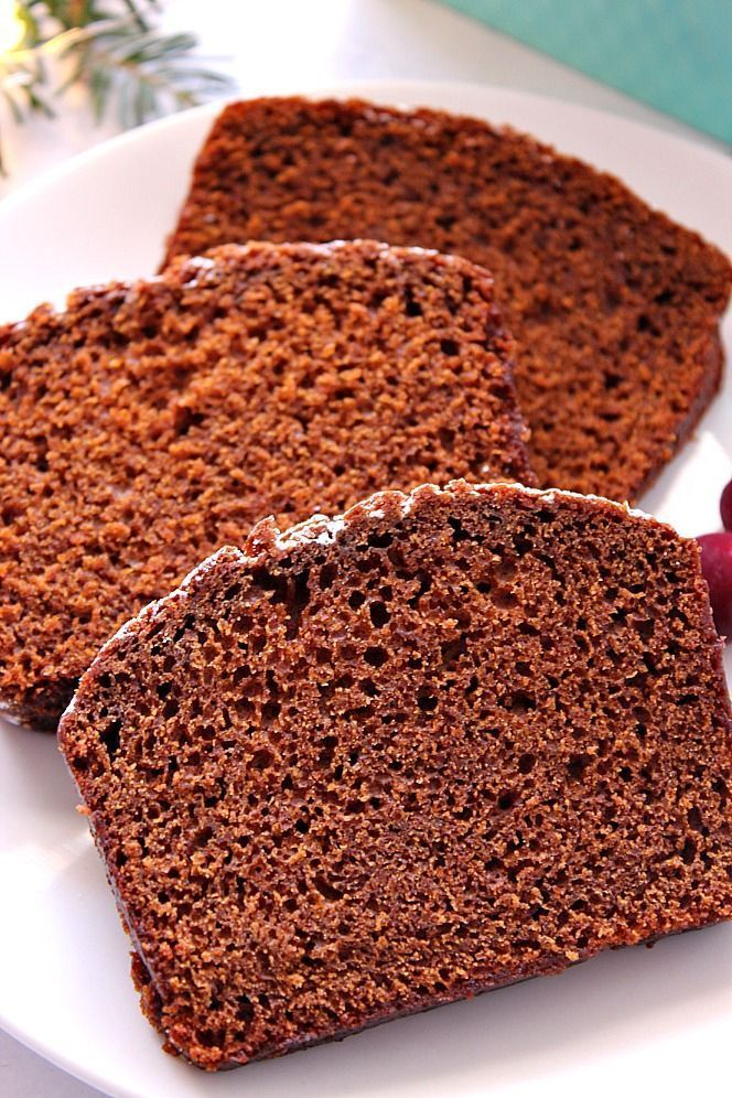 Gingerbread Loaf Cake Recipe moist and perfectly spiced