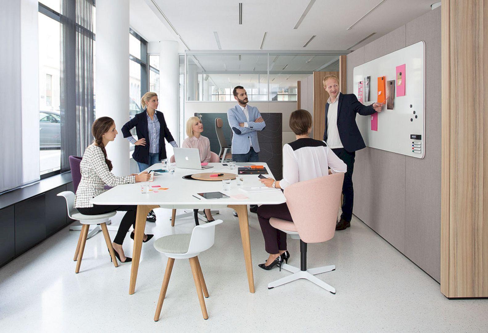 Jardine House An Innovative Workspace Refurbished By Bean Buro Office Interior Design Furniture Office Furniture