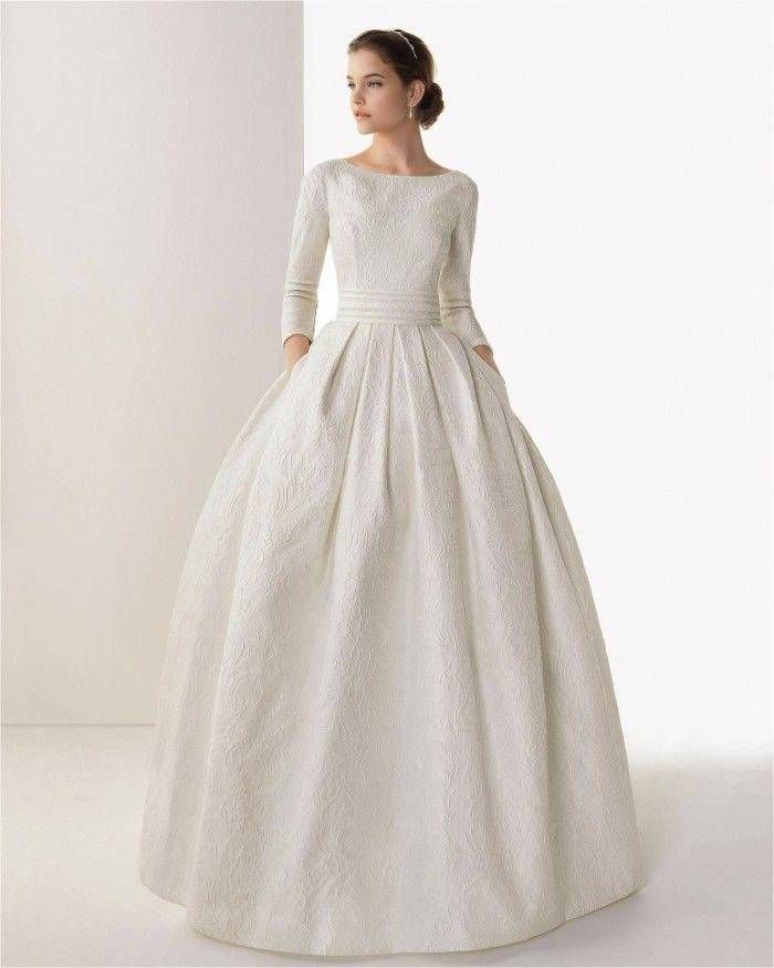Modest Wedding Dresses With Pretty Details Modwedding Modest Wedding Dresses Short Sleeve Wedding Dress Wedding Dress Long Sleeve