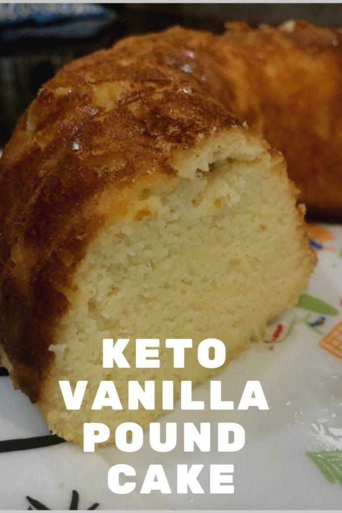 KETO VANILLA POUND CAKE #ketodesserts