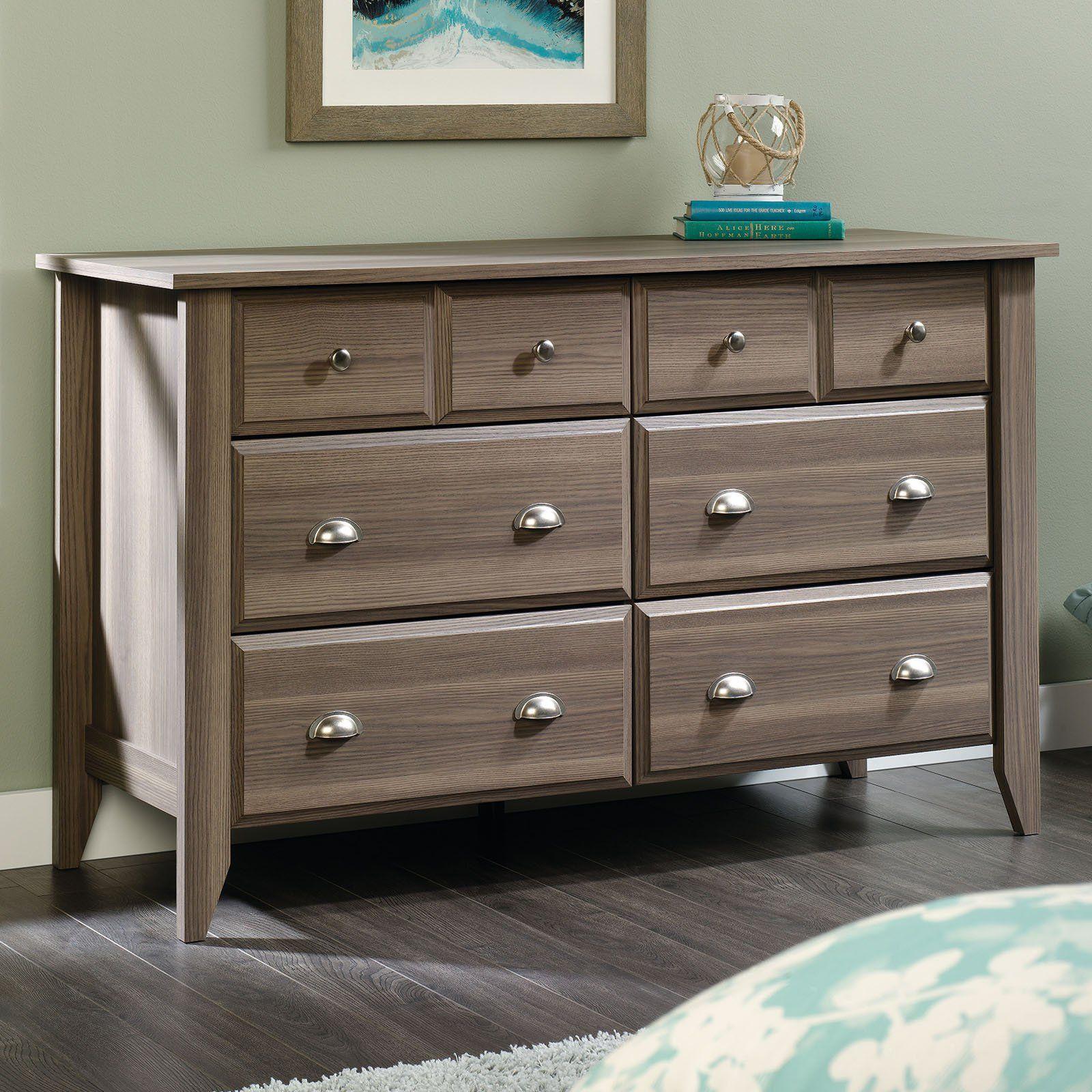 Best Sauder Shoal Creek 6 Drawer Dresser With Images 400 x 300
