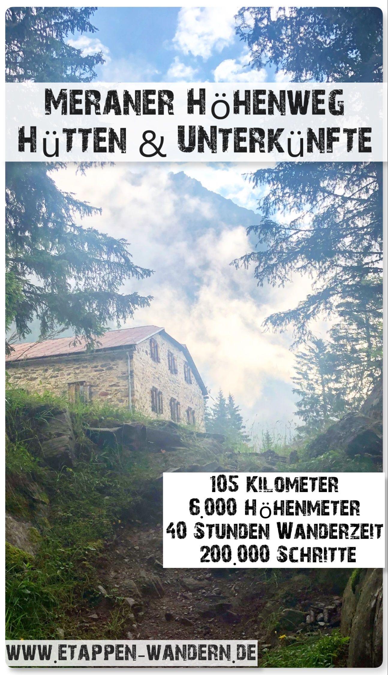 Meraner Höhenweg / Südtirol #hikingtrails