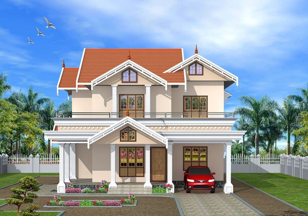 picture of balcony contemporary house designs house front design rh pinterest com kerala home front view design kerala home front door designs