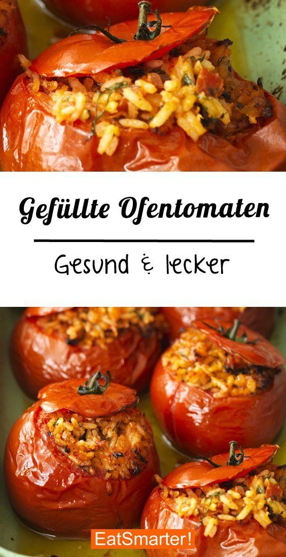 Gefüllte Tomaten aus dem Ofen #vegetarischerezepte