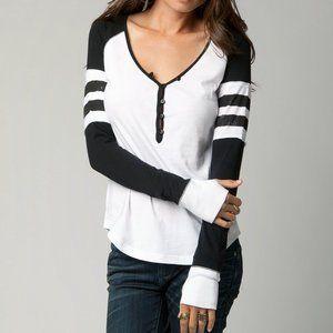 Fox Racing Womens Long Sleeve Shirt Black/White   Fox Racing ...