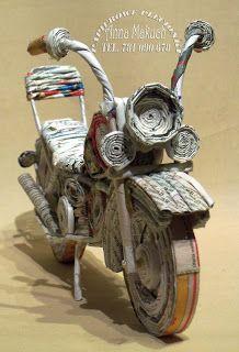 Zapowiedz Recycled Paper Crafts Newspaper Crafts Diy Paper