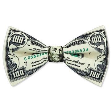 100 Dollar Bill Pre Tied Bow Tie Bow Ties Are Cool Pinterest