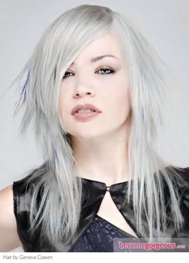 Super 17 Best Images About Gorgeous Silver Gray Hair On Pinterest Hairstyle Inspiration Daily Dogsangcom