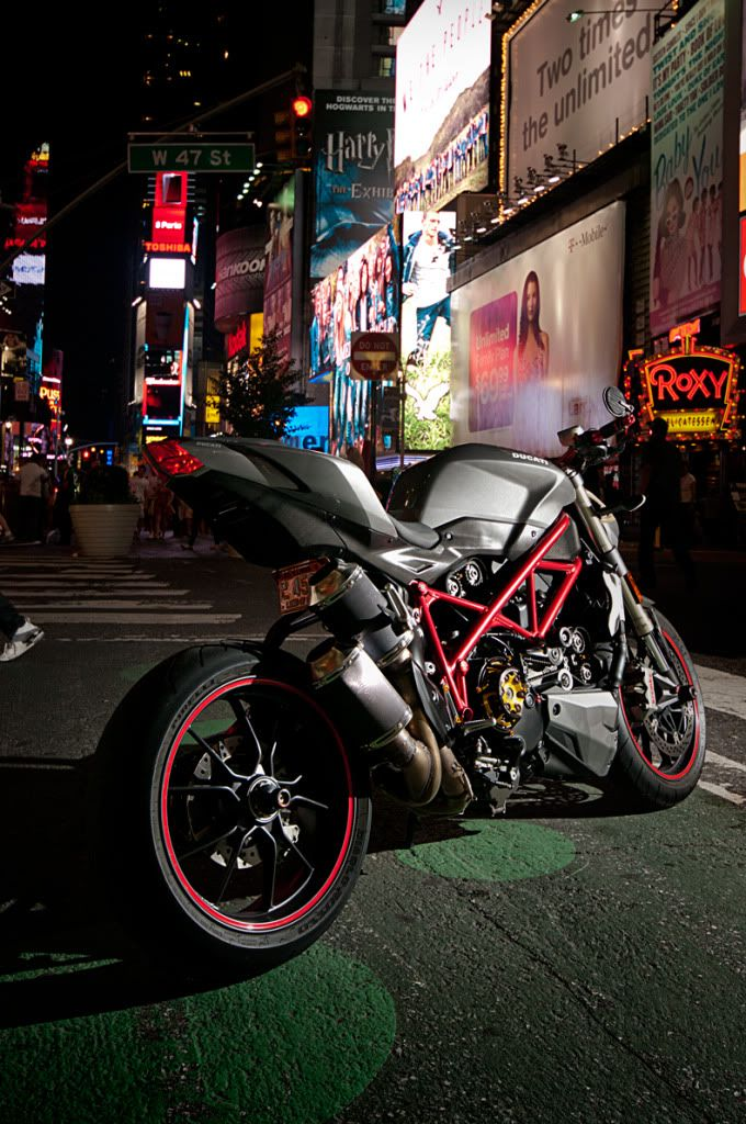 Grey Matte Ducati SF Modded out