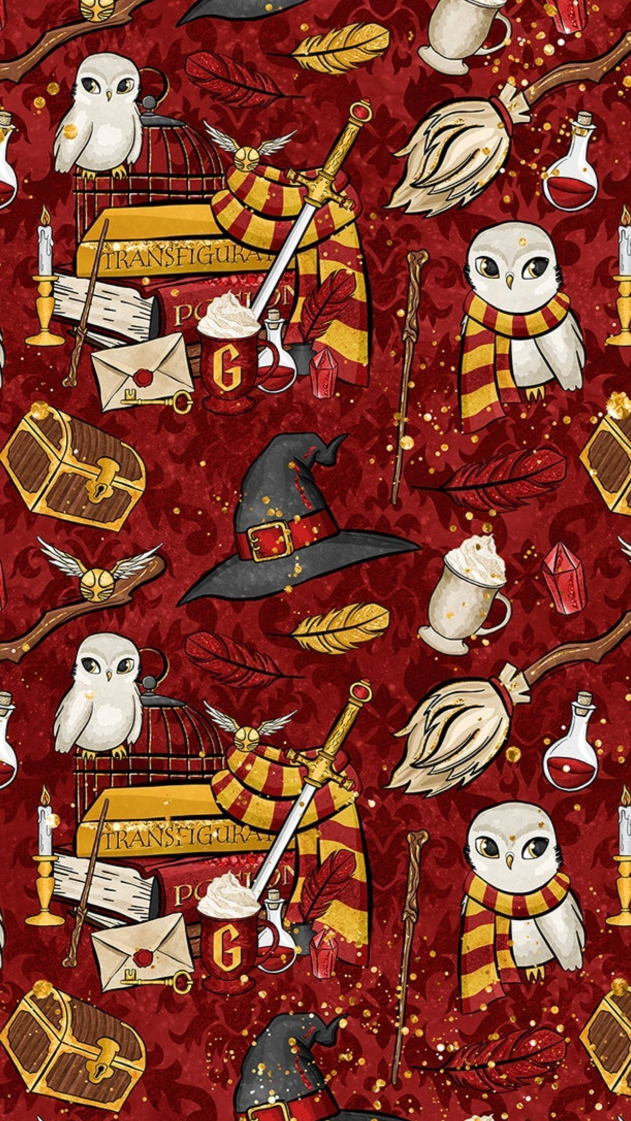 Harry Potter Cartoon Wallpaper Harry Potter Wallpaper Harry