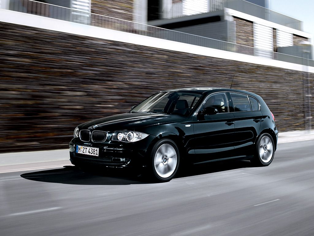 BMW 1 Series Black - A nice new car that I can put my business logo ...