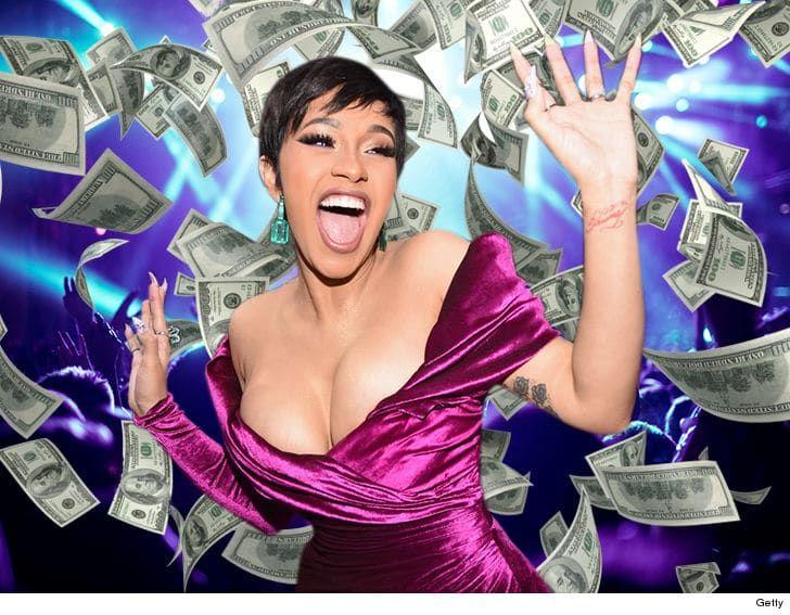 Sensational Female Rapper Cardi B Wants $300-$500k To Get