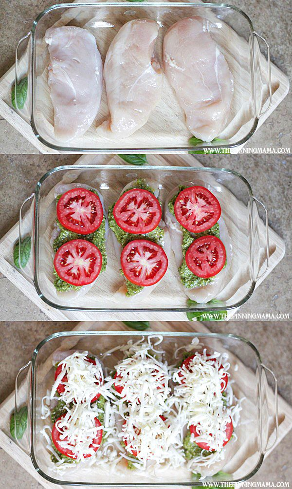 Italian Chicken Bake #protein #lowcarb