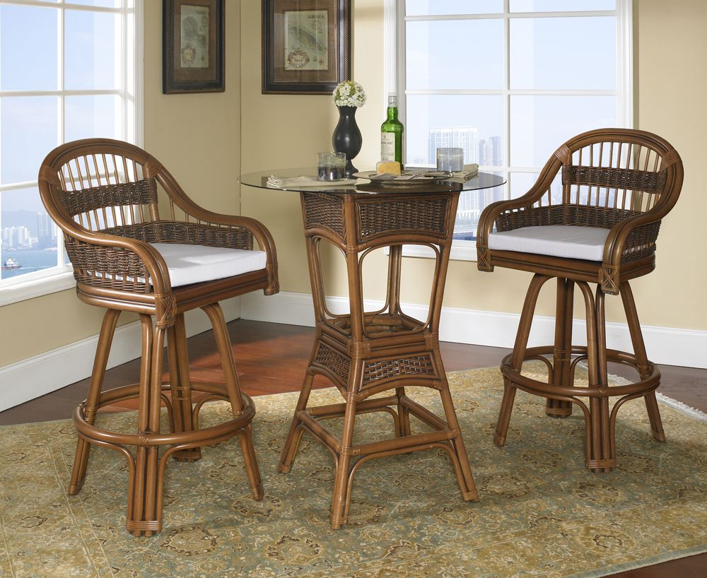 Rattan Bar Set: Tigre Bay Set of 3 | Pinterest