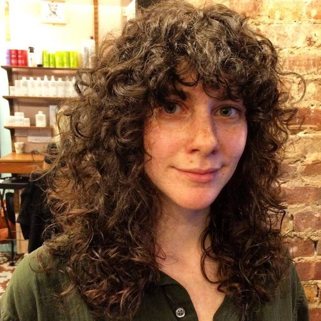 18+ Long curly shaggy hairstyles trends