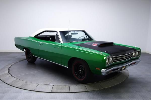 This Rallye Green 1969 Road Runner A12 Offers 100 Matching Numbers The Original Chrysler Corporation Broadcast Sheet An Unusual And Lengthy List Of Options