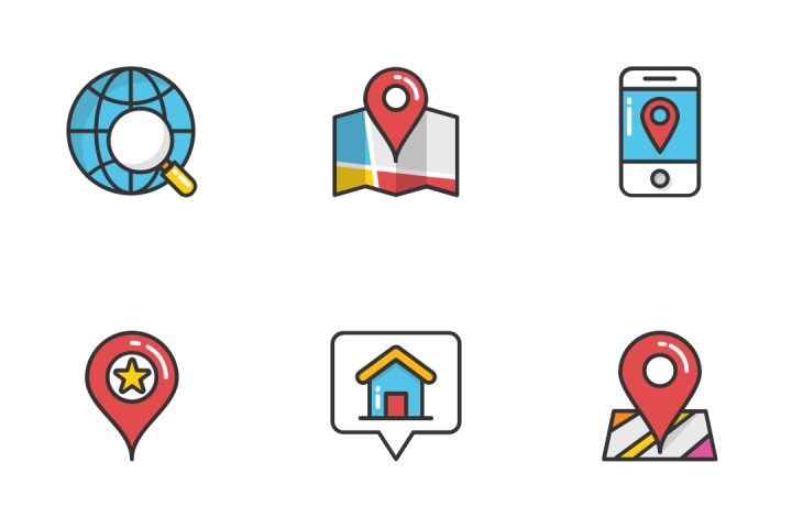 Download Maps And Navigation 3 Icon Pack Available In Svg Png Eps Ai Icon Fonts Icon Set Design Icon Location Icon