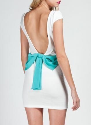 Bow Back Dress...LOVE!!