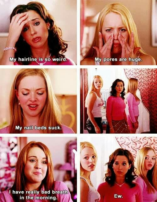 Pin By Ayeeitsjaylah On Favorite Movies Mean Girls Movie Best Mean Girls Quotes Mean Girls