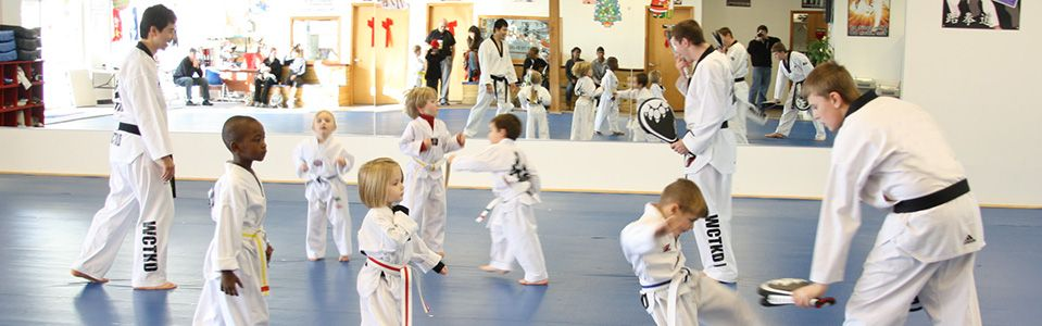 Here at master y kims world class tae kwon do we take