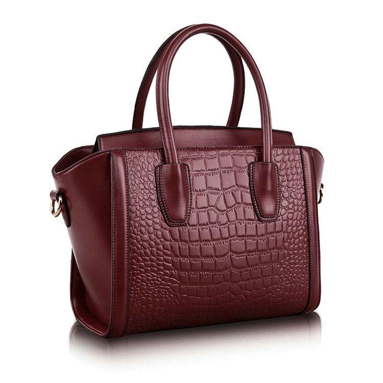 Bolsos de cuero elegante tendencia de moda bolsa de asas grandes para mujeres [SD12024] , \u20ac57.16  bzbolsos.com, comprar bolsos online