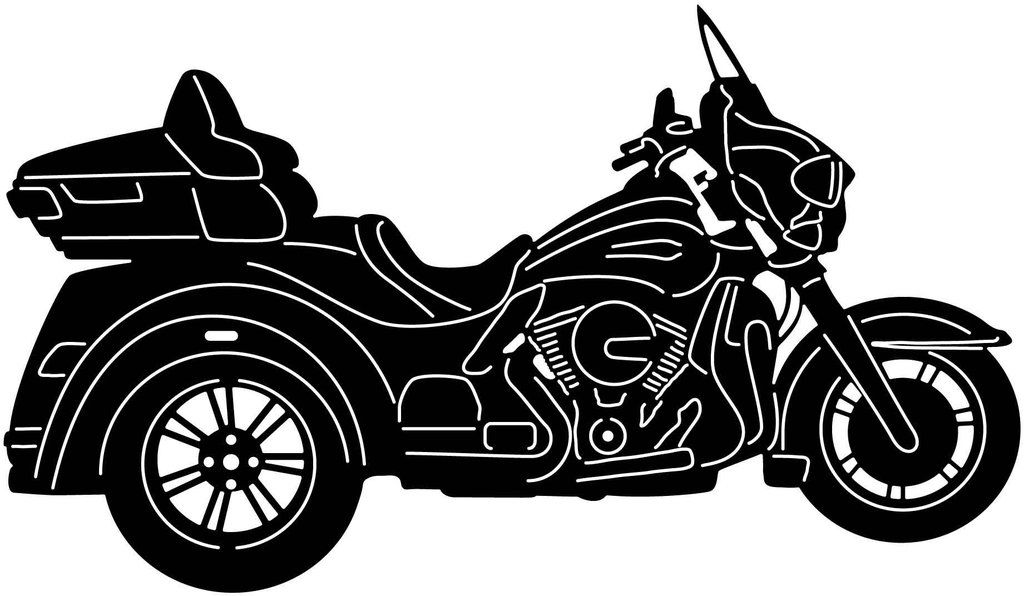 laser cutting and plasma cutting Motorcycle and Chopper Bike Racing-DXF files cut ready for cnc machines