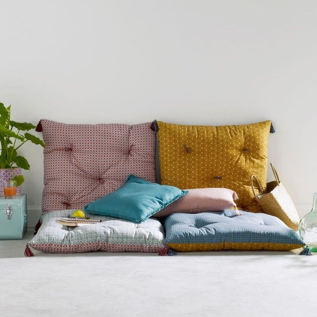 coussin de sol mashita chambre rangement coussins de sol coussin de sol exterieur et. Black Bedroom Furniture Sets. Home Design Ideas