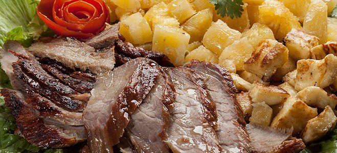Resultado de imagem para queijo coalho carne e batata frita