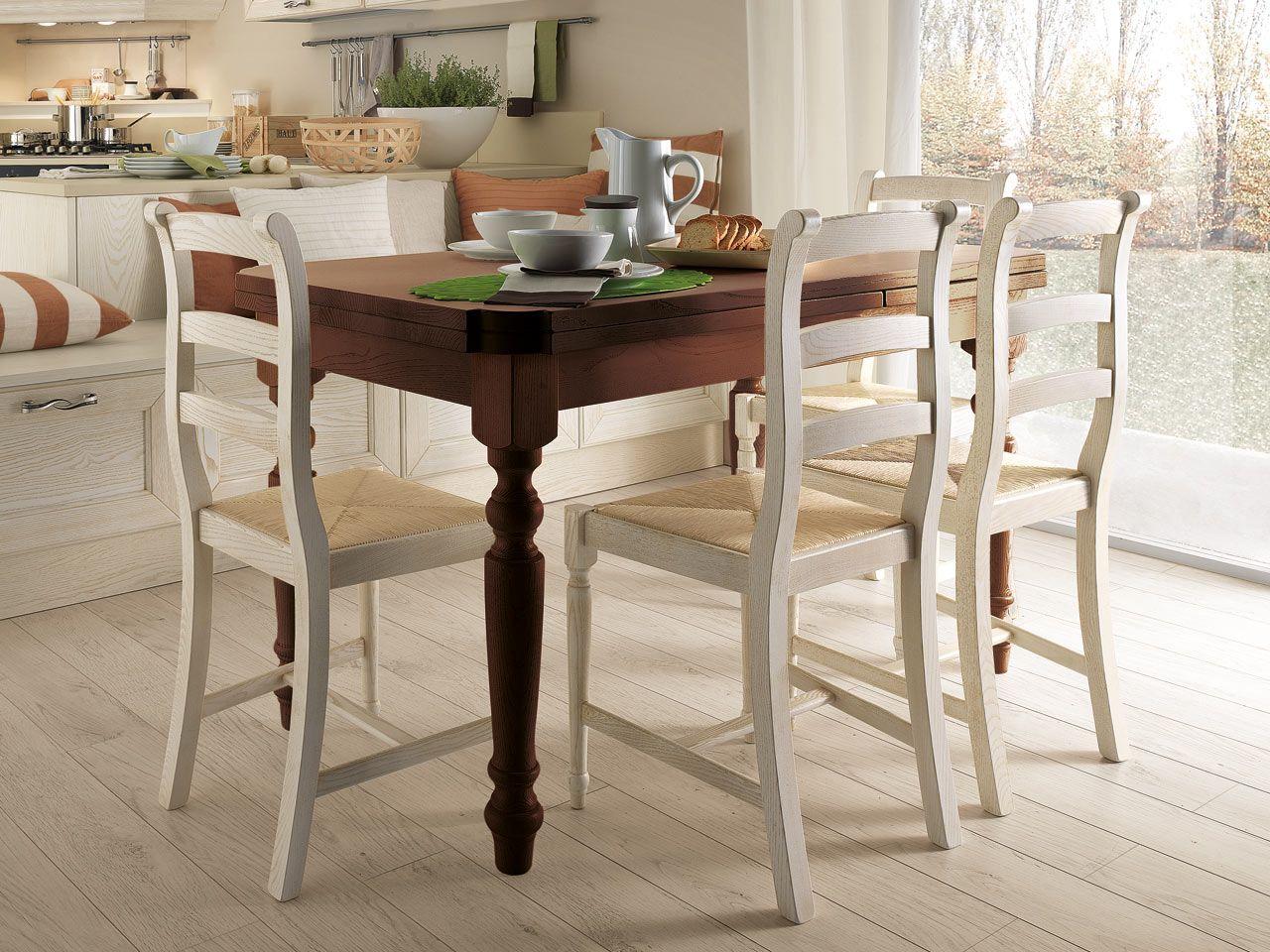 Claudia Table And Chairs Cucine Lube Arredamento Arredamento Casa Piegare Asciugamani Da Bagno