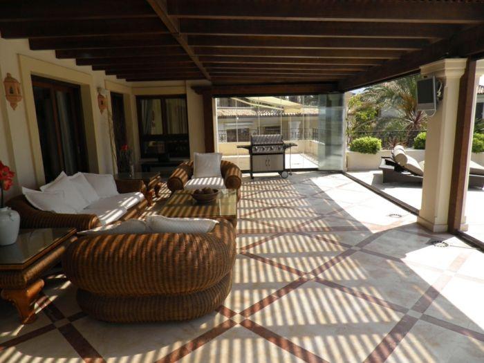 Terrasse Gestalten terrasse gestalten ideen für terrasse einrichtung einmalig sofa