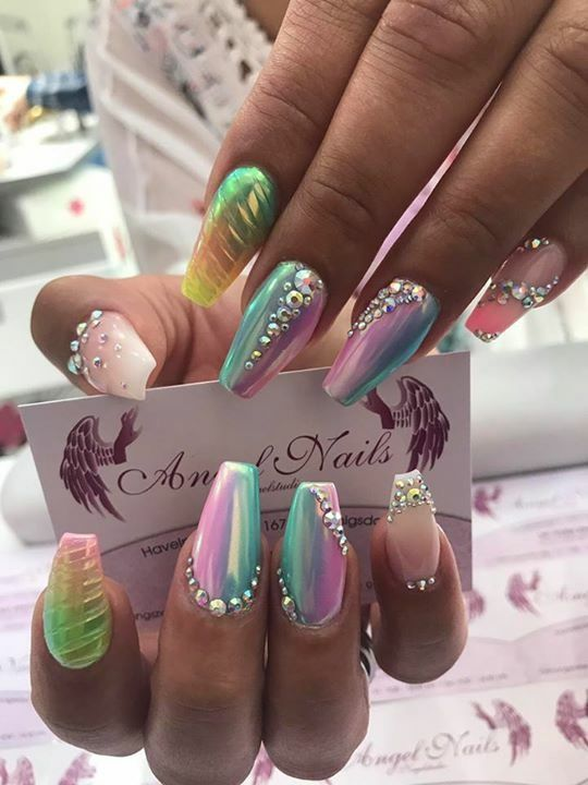 Pin By Yoselin Perez On Uñas Decoradas Efecto Termico Nails Nail
