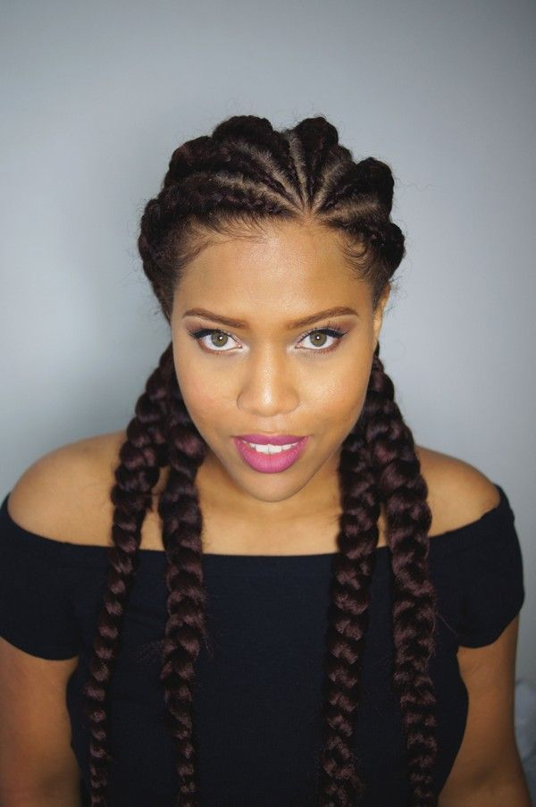 Big Braids Hairstyles Inspiration 51 Latest Ghana Braids Hairstyles With Pictures  Ghana Cornrows