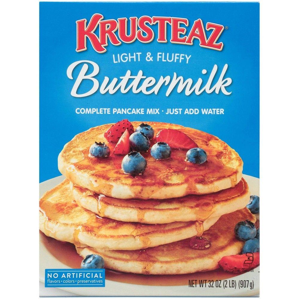 Krusteaz Buttermilk Pancake Mix 32oz In 2020 Buttermilk Pancake Mix Buttermilk Pancakes Krusteaz Buttermilk Pancake Mix