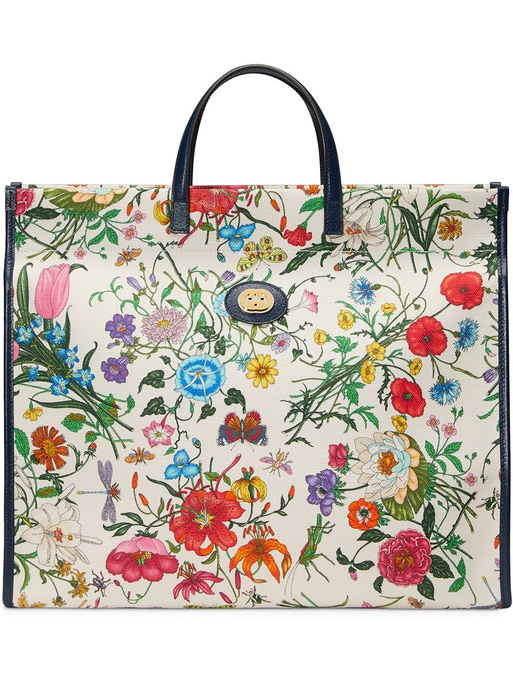 Gucci Large Flora Tote Bag Tote Bag Bags Gucci Handbags