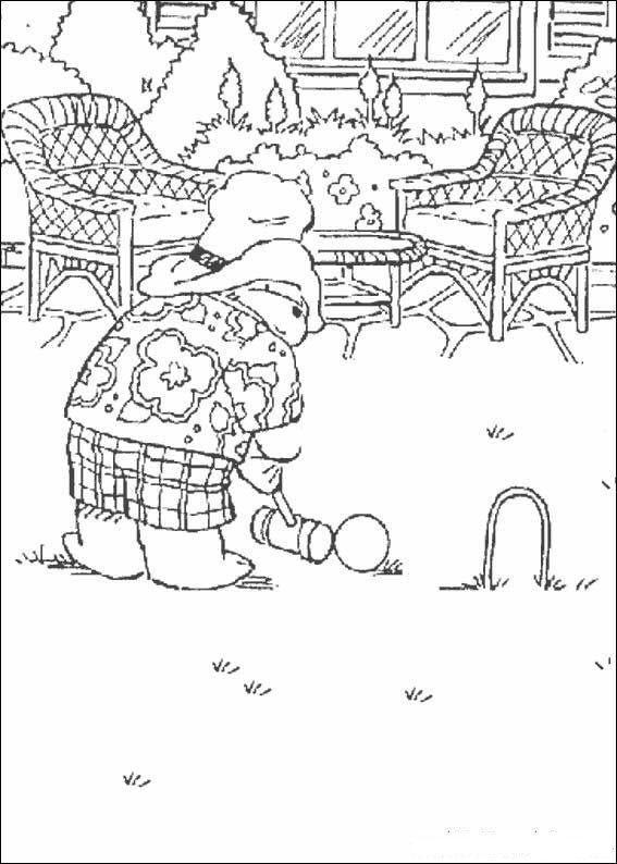 coloring page Paddington Bear Kids-n-Fun | Coloring Pages *Dover ...
