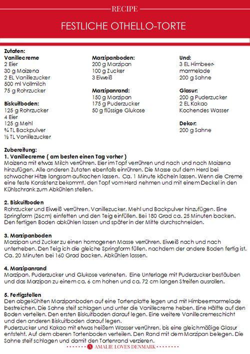 Danisches Rezept Festtagstorte Fur Ostern Festtagstorten Danische Rezepte Torten