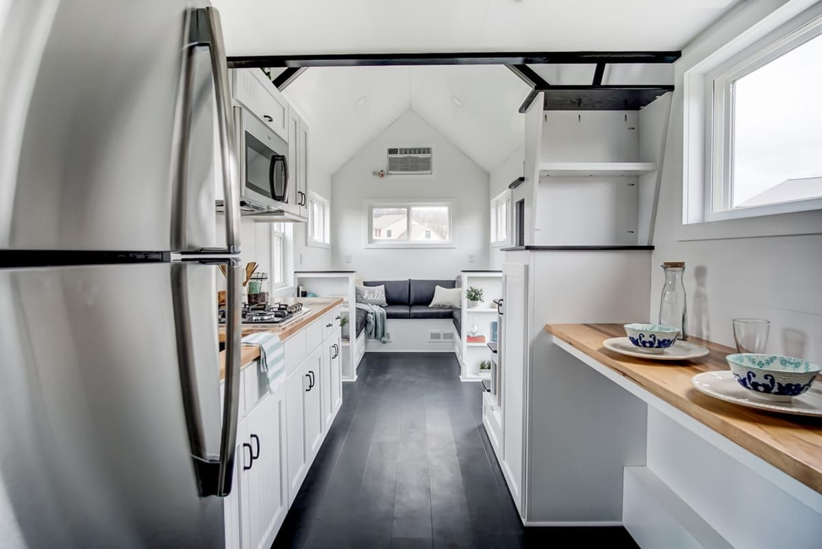 Meet Domino Tiny House For Sale In Indianapolis Indiana Tiny House Listings Tiny House Listings Tiny House Big Living Tiny House Vacation
