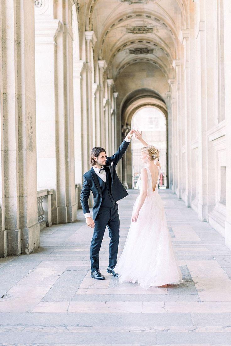 Paris Elopement Inspiration with Romantic Detail | Wedding