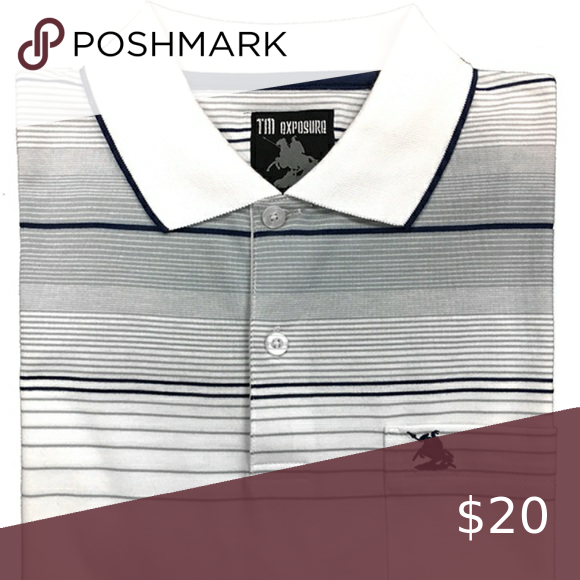 Striped Polo With Shirt Pocket And Logo Soft And Comfortable Polo Tee Great For Everyday Wear And For Special Occasions Shirts Stripes Design Clothes Design