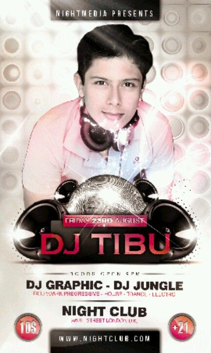 Hacemos tu póster party DJ
