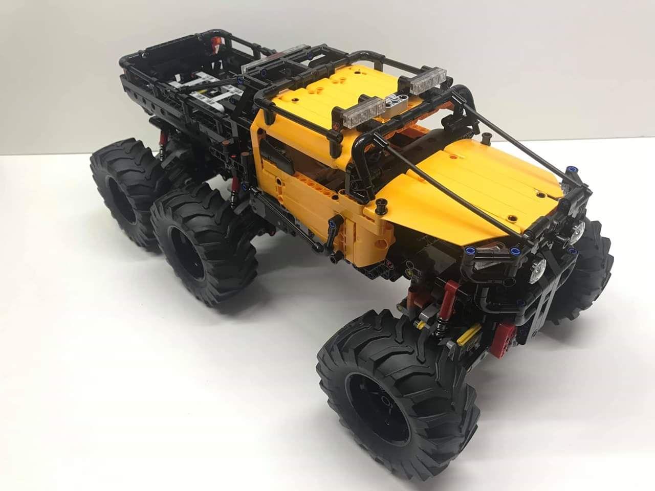 Lego Technic 42099 Moc 6x6 X Treme Off Roader Lego Technic Lego Technic Truck Lego