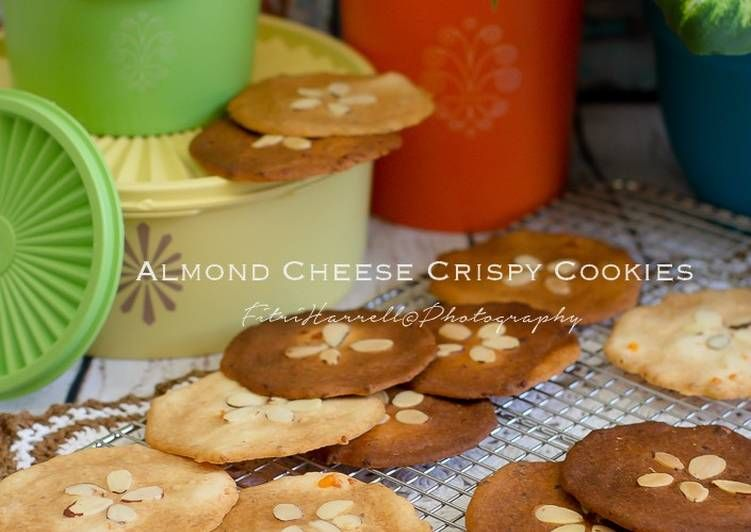 Resep Almond Cheese Crispy Oleh Fla Kitchen Resep Makanan Makanan Dan Minuman Kue Kering