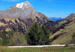 trekking de bernard: Croix d'Allant dans les Bauges